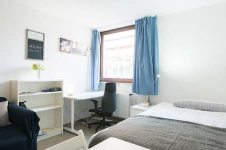 SMALL STUDIO IN PRIME LOCATION (2) - Mannheim - Apartemen