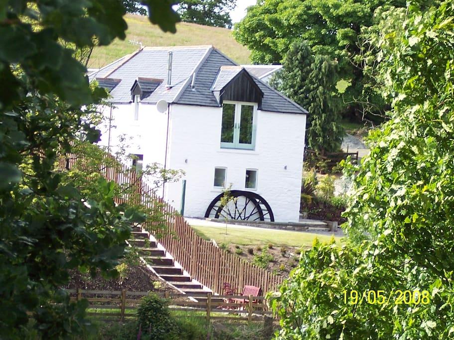 Burnbrae Mill Castle Douglas Cottages For Rent In