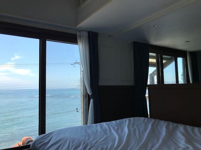 애월바다/객실, 욕조 완벽오션뷰 ღ (+복층)Jeju on the sea # suite