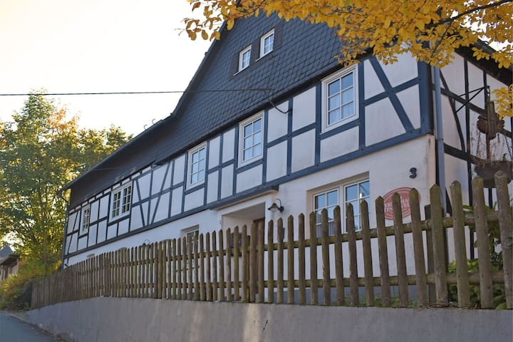 Large holiday home in the Sauerland region with sauna, fitness equipment, garden and terrace