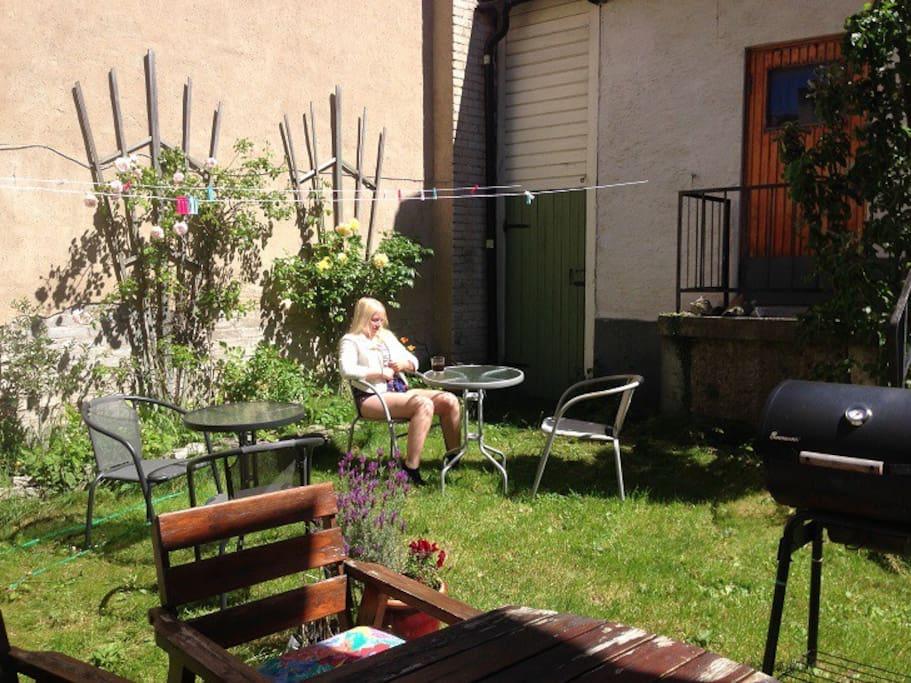 Gemensam trädgård