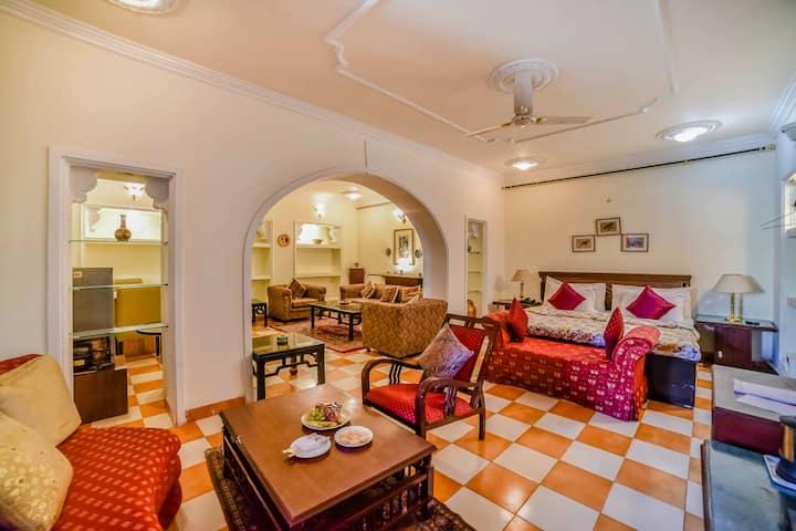 Garden Villa stay@heritage boutique palace Jaipur