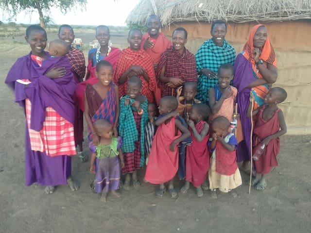 Welcome to our small Masai village