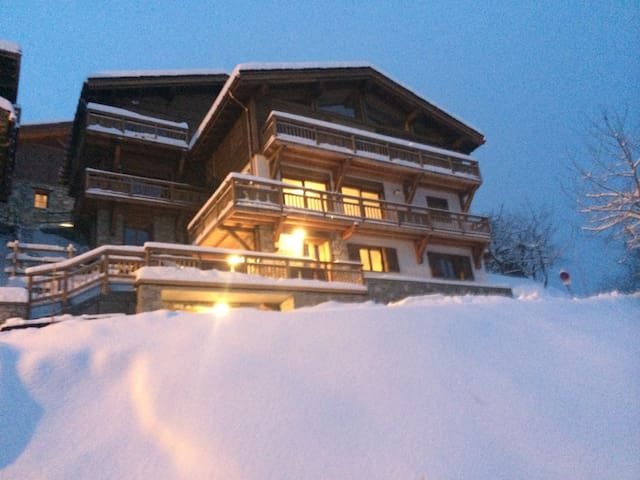 Flat in la Tania, Courchevel - La Perrière - Apartment