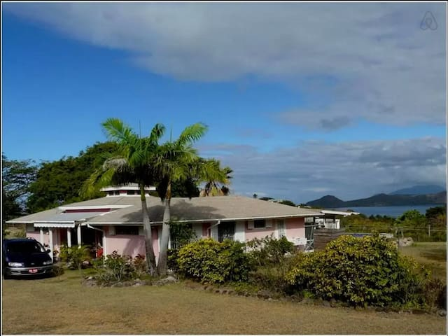 Ocean-View Villa w Pool in Nevis! - Whitehall - Huvila