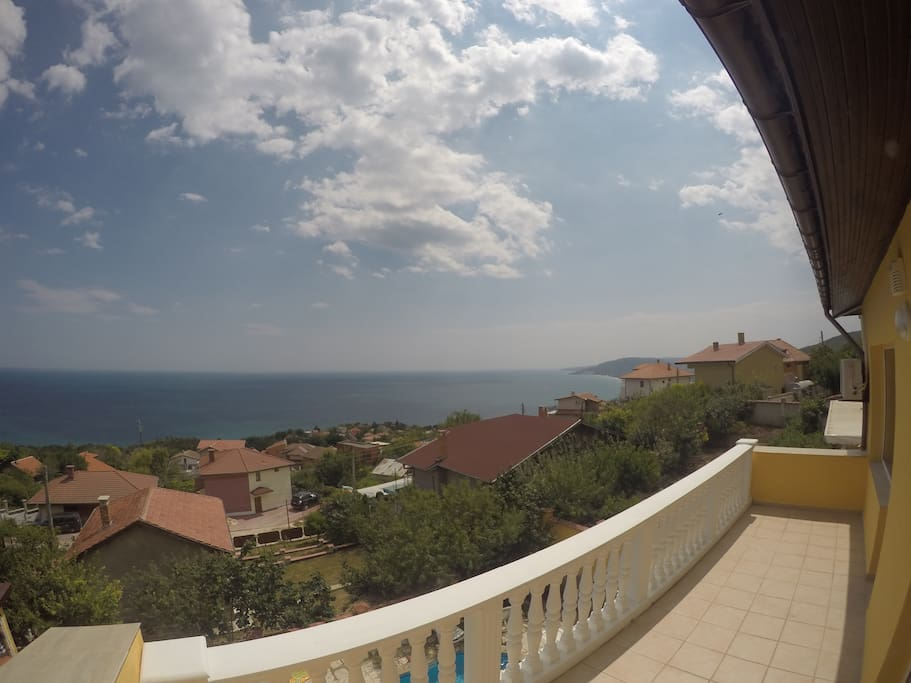 View from the Villa