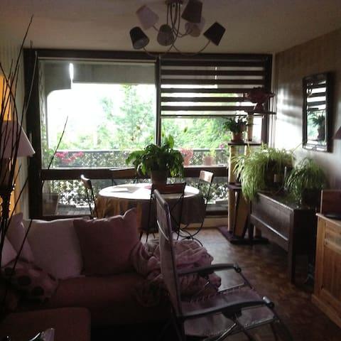Chambre dans appartement bien situé.