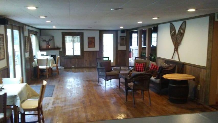 New Lodge Check In Area