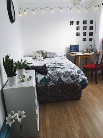 Lovely Bright Bedroom Close to the City Centre