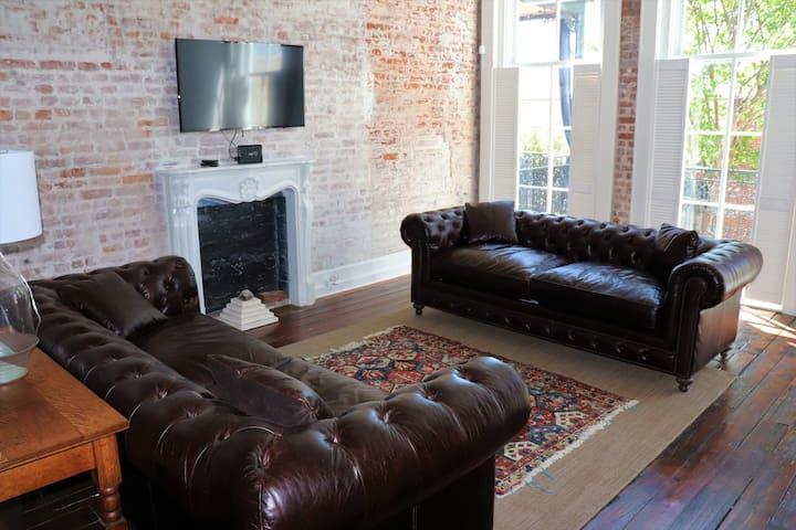 Restored Loft in the Heart of Downtown Vicksburg