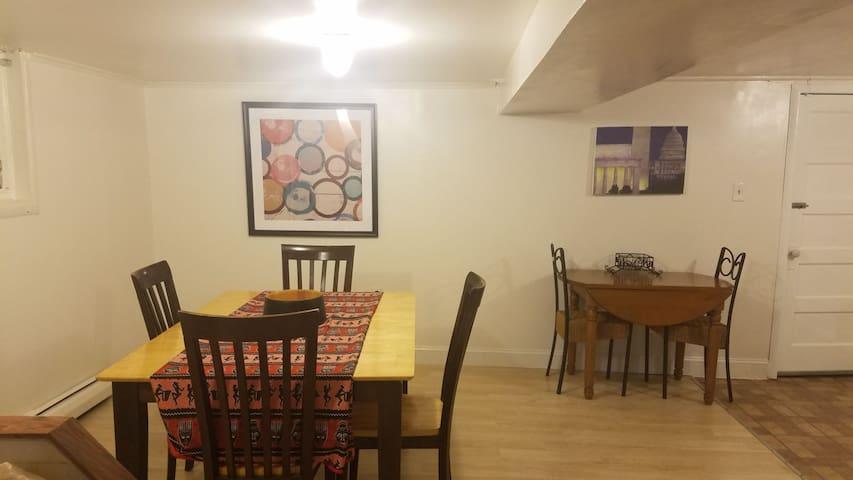 Private Spacious 1 BD Apartment in Takoma Park DC!
