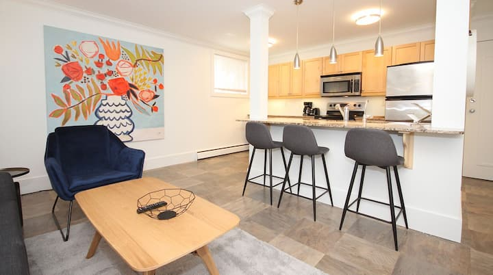 Boutique Furnished Oliver Condo Downtown Edmonton