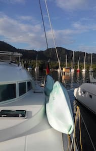 Living in a sailing boat with breakfast and dinner - Puerto Lindo - Barco