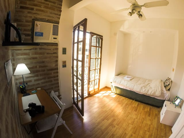 Best private room in Palermo SOHO! - Buenos Aires - Huis