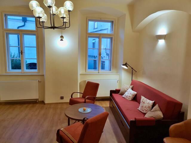 Apartmány na Trojmezí, byt Markéta, Slavonice