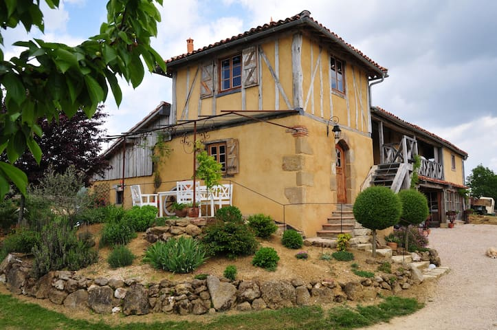 grange aménagée pleine campagne - Sauvimont - Haus