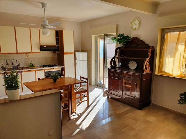 Beautiful and clean apartment close to Taormina