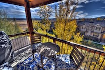 Deck with Gas BBQ and Beautiful Views