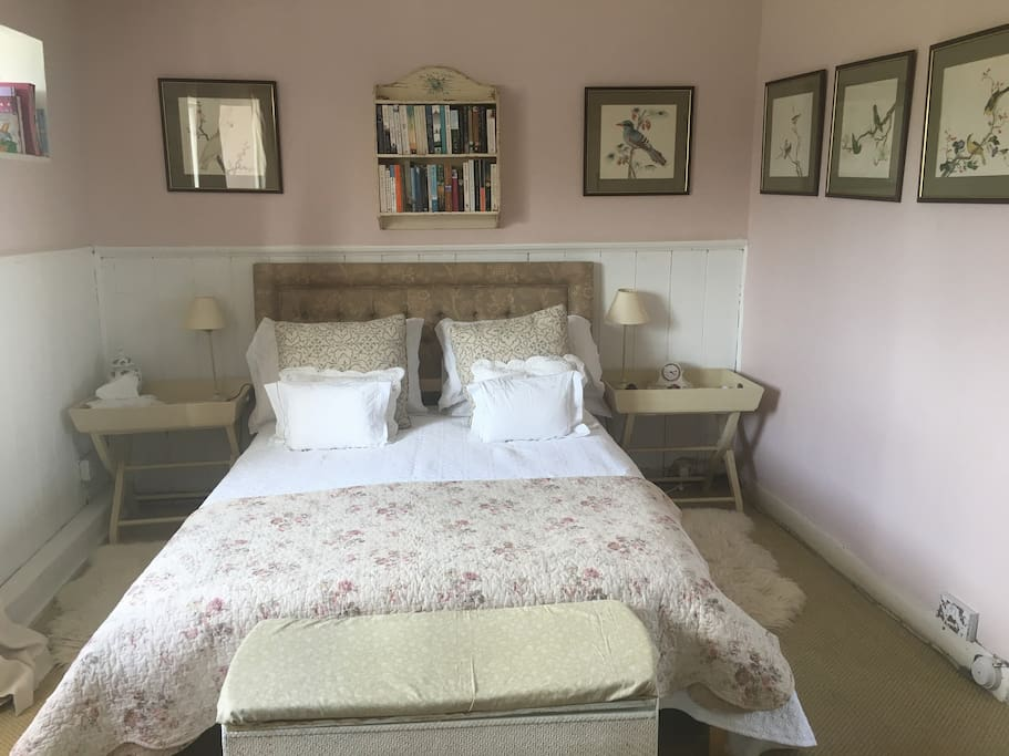 Double spare room with cot