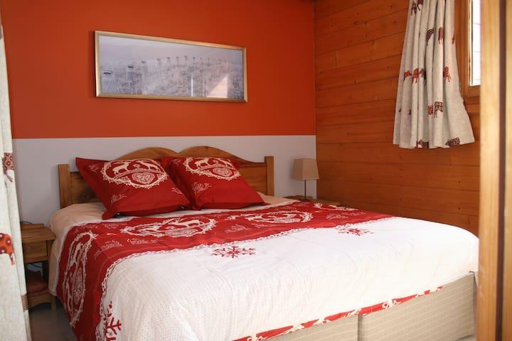 Luxueux appartement T3 avec piscine - Mâcot-la-Plagne - Lägenhet