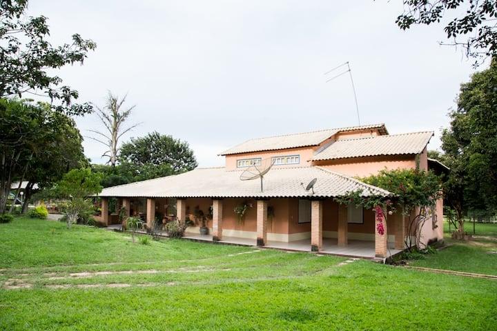 Casa de campo para descansar