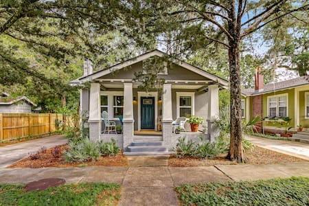 San Marco Charm! 2 Bed 2 Bath Bungalow on a Park