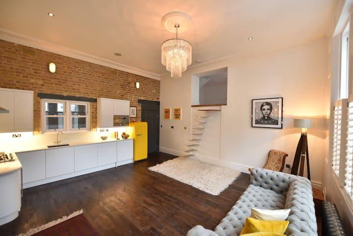 Boutique Notting Hill Apartment