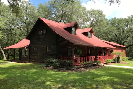 Red Bird Cabin-Peace and Quiet Near Suwannee River