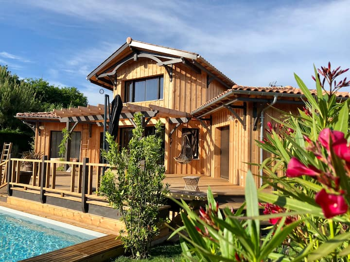 house for rent - Lège Cap Ferret 2-10 pers - Pool