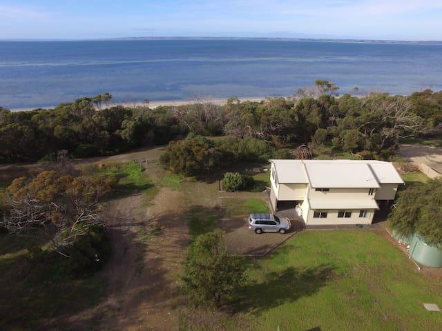 Kangaroo Island Quiet Beachfront location