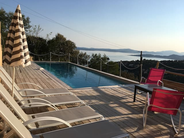 Villa beautiful view sea 10 people private pool - Roquebrune-sur-Argens - Villa