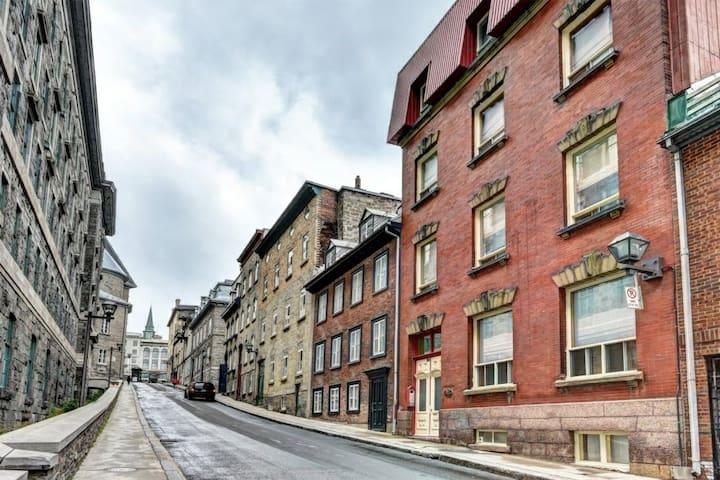 Coeur du vieux Québec !