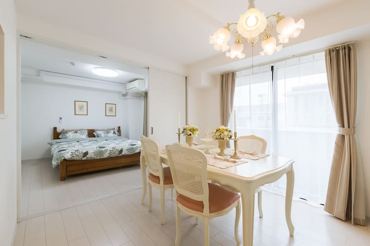 Gorgeous, Large and Cozy House near Tennoji area☆ - Osaka - Apartamento