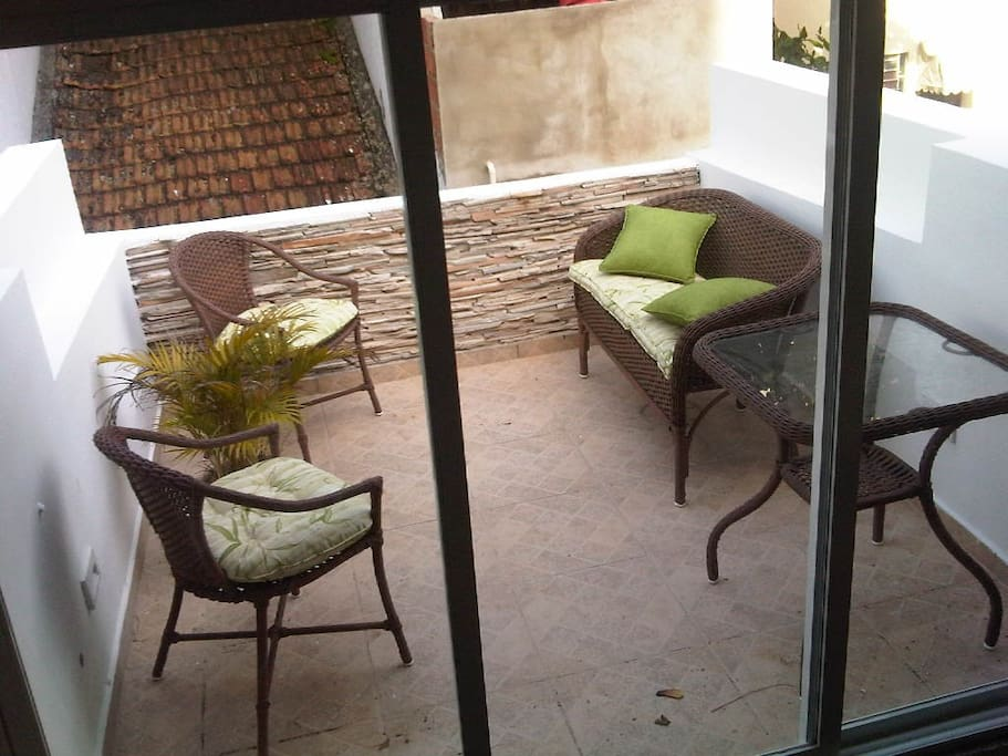 Terraço/varanda da casa