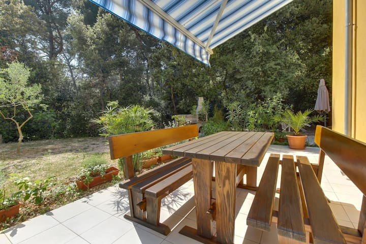 One bedroom apartment with terrace Artatore (Lošinj) (A-8022-a)