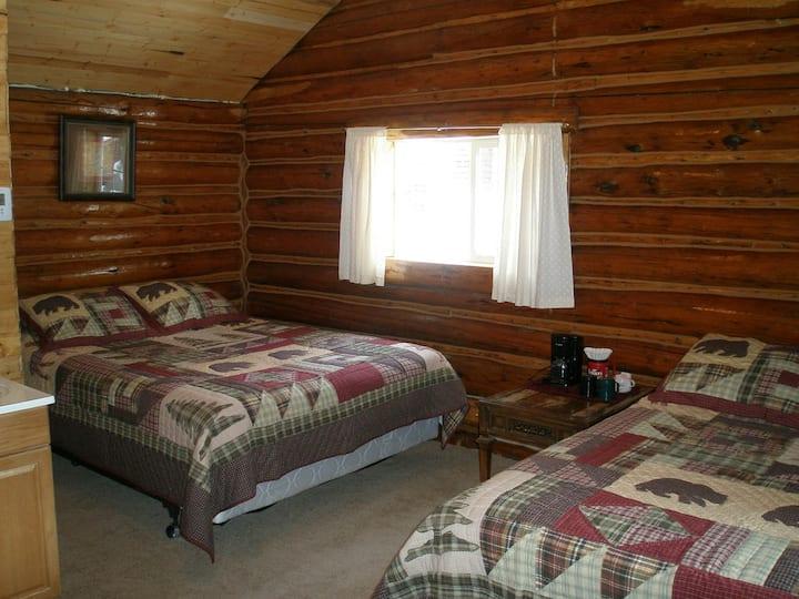 Antler's Log Cabin Duplex 2