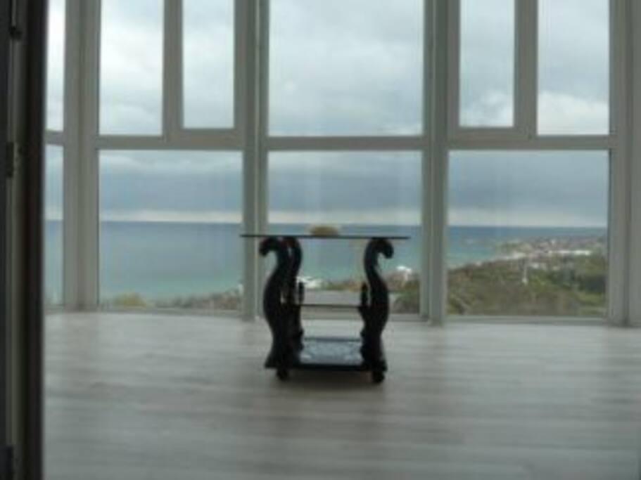 Вид моря