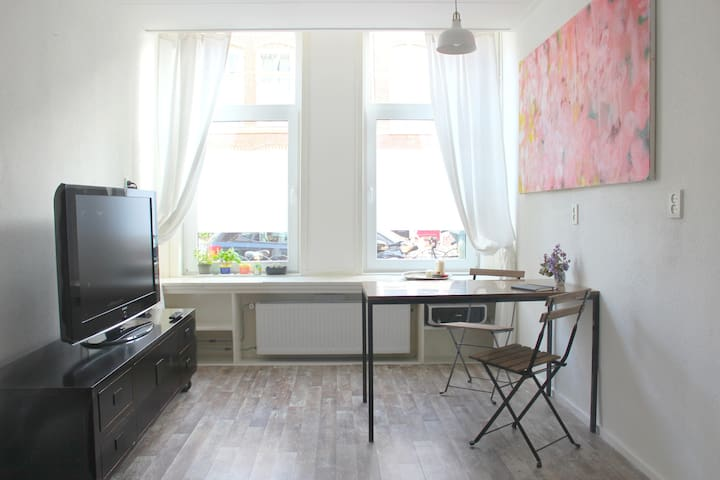 Spacious room by Haarlem Central Station - Haarlem - Apartamento