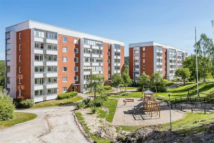 Cozy apartment in middle of Sundsvall