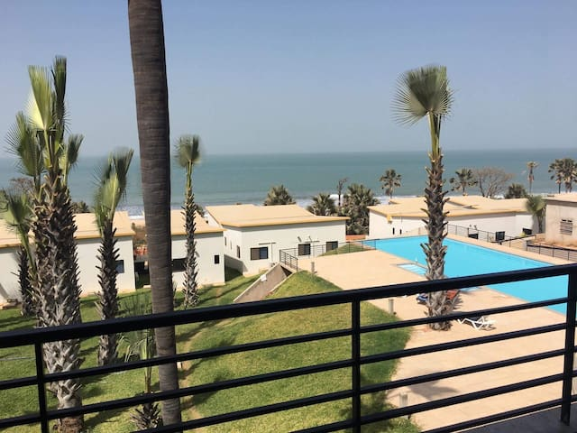 Exotic ocean view apartment in Gambia