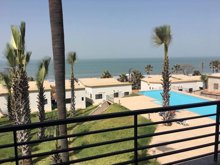 Exotic ocean view apartment in Gambia