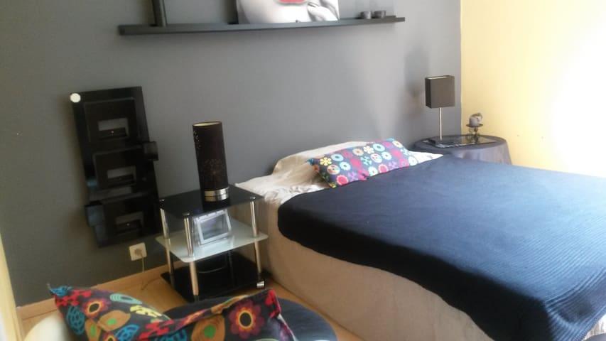 chambre double tout confort - Chambéry - Apartamento