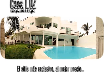 CasaLUZ * AT THE BEACH - HOGAR DE PLAYA * Casa LUZ