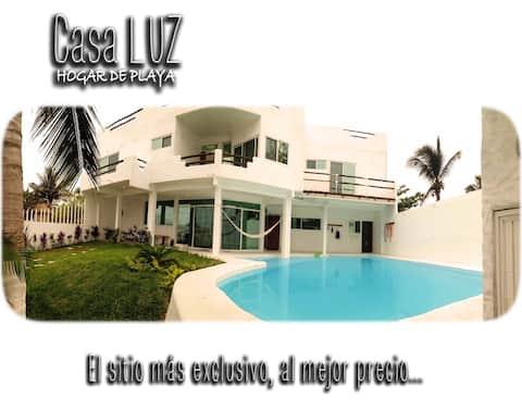 CasaLUZ * AT THE BEACH - HOGAR DE PLAYA * Casa LUZ