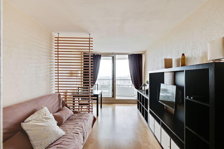Élégant et confortable studio à côté de Montmartre