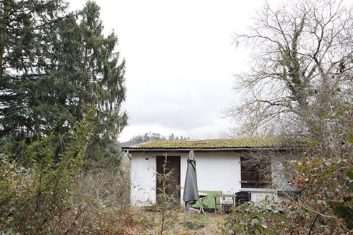 Haus in Alleinlage am Waldrand, keine Nachbarn - Fischbachtal - Naturhytte