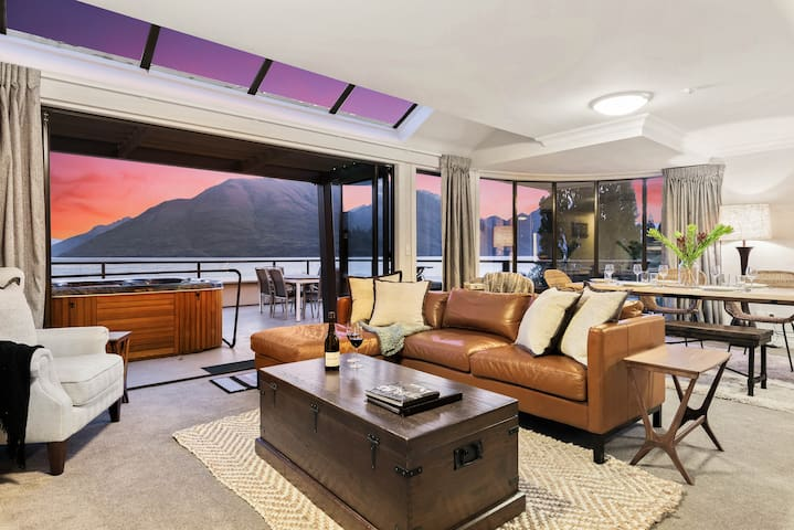 Central Luxury at The Beacon | Hot Tub | Fireplace