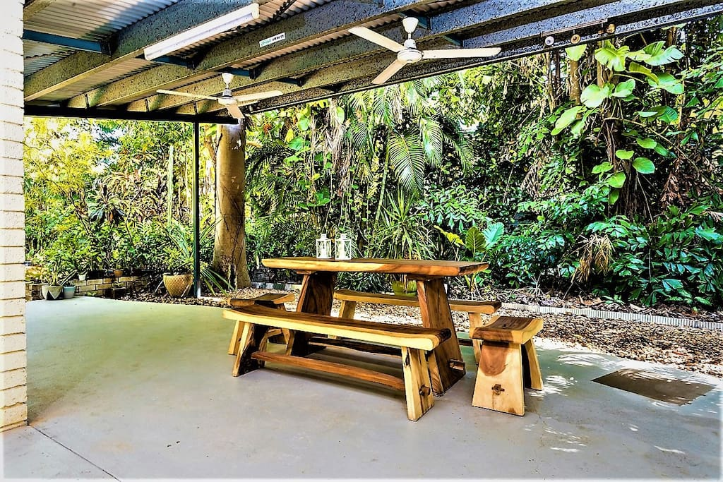 Fully Mature Tropical Garden