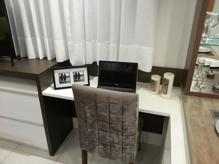Home office com internet super rápida