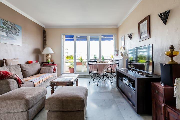 Charmant 2 pièces/terrasse Bondy quartier Mainguy - Bondy - Appartement